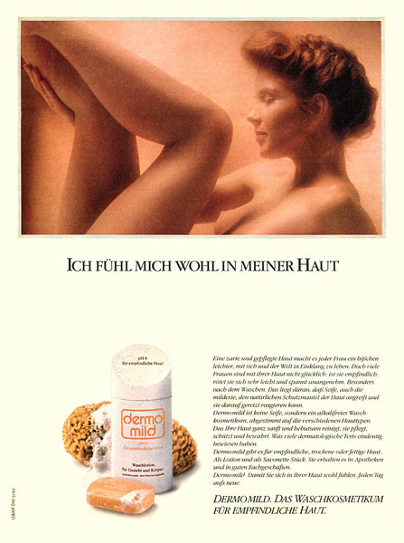 Dermomild bath 1982 Germany