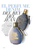 DIESEL Fuel for Life Denim Collection 2011 Spain (advertorial Glamour) 'El perfume denim del rey del jean'