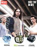 DIESEL Only the Brave Diverse (Original + Wild + Tattoo) 2014 Spain (handbag size format) <br /> 'Wild - the new fragrance'<br /> <br /> MODELS:  Lucas Kerr, Sam Webb & Willy Cartier, PHOTO: André Chemetoff