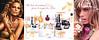 DIOR Diverse 2008 Canada (4-page gatefold with 2 scent strips) 'Ma liste de souhaits Dior pour le temps des fêtes'