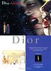 DIOR Addict lipstick 2003 Spain (Sephora stores) glossy recto-verso promo card 21 x 15 cm