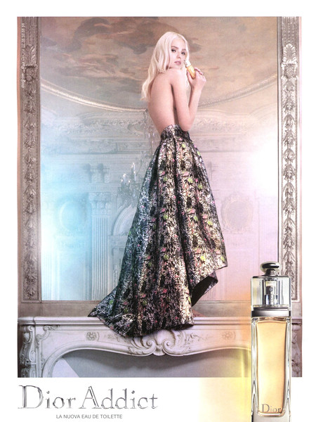 DIOR Addict Eau de Toilette 2014 Italy 'La nuova Eau de Toilette'