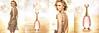 DIOR J'Adore Eau Lumière Eau de Toilette 2016 France 4 pages (2 glossy recto-verso) with scent card in texturized sheath  'La nouvelle Eau Lumière'