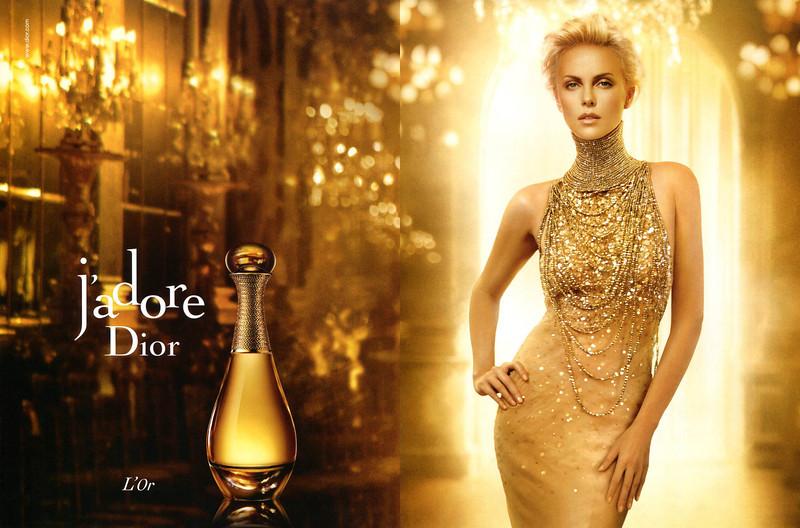 J'Adore DIOR L'Or 2013 Spain spread 'www dior com'