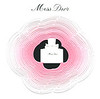 Miss DIOR 2016 France (perforated pop-up (3D) tester card 8 x 8 cm)