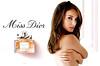 Miss DIOR Chérie Eau de Parfum 2011 Italy spread 'Miss Dior - www miss-dior com' <br /> ('Miss Dior Chérie Eau de Parfum' on the bottle label)