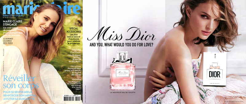 Miss DIOR Eau de Toilette 2019 France (3 pages with Imagin sample) 'La nouvelle EdT'
