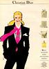 Miss DIOR 1981 France 'Pour la plus belle des fêtes, offrez-lui le plus beau des parfums...'