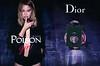 DIOR Poison Girl Eau de Toilette 2017 Italy spread with metallized scent card 'I am not a girl - I am poison - La nuova Eau de Toilette'