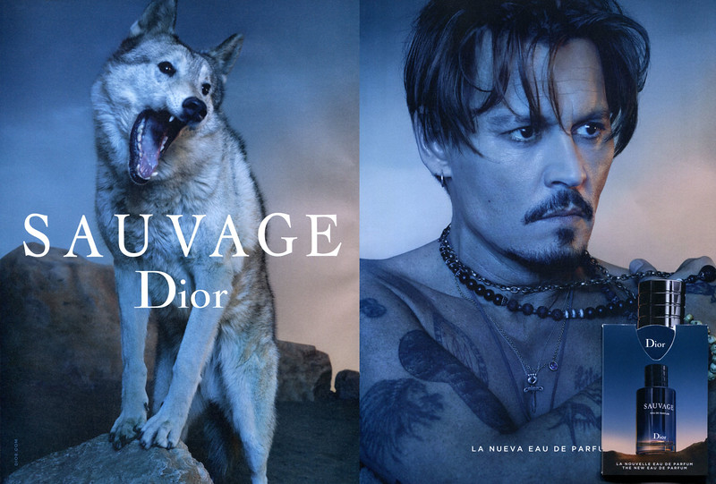 DIOR Sauvage 2018 Spain (spread with Imagin® sample) 'La nueva Eau de Parfum'