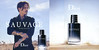 DIOR Sauvage 2015 Canada (recto-verso with scent strip 13 x 13 cm) 'The new fragrance'