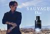 DIOR Sauvage 2016 France spread 'Le nouveau parfum' (vertical line on page 2)