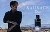 DIOR Sauvage 2015 Italy spread 'Le nouveau parfum' (vertical line in Italan)