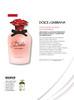 DOLCE & GABBANA Dolce Rosa Excelsa 2016 France (Sephora stores) 'Découvrez la nouvelle fragrance... l'ultime fleur du jardin Dolce - Votre offre Sephora Gold'