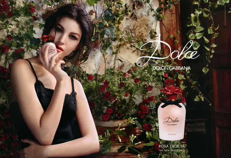 237062d0 DOLCE & GABBANA Dolce Rosa Excelsa 2016 Italy spread 'The new fragrance'