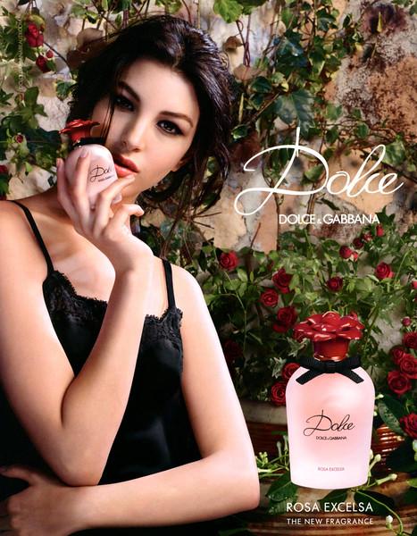 DOLCE & GABBANA Dolce Rosa Excelsa 2016 UK (format Grazia) 'The new fragrance'<br /> <br /> Photo:  Domenico Dolce, Creative direction: Stefano Gabbana