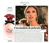 DOLCE & GABBANA Dolce Rosa Excelsa 2016 Spain (advertorial YoDona) 'La musa - Una modelo de película'