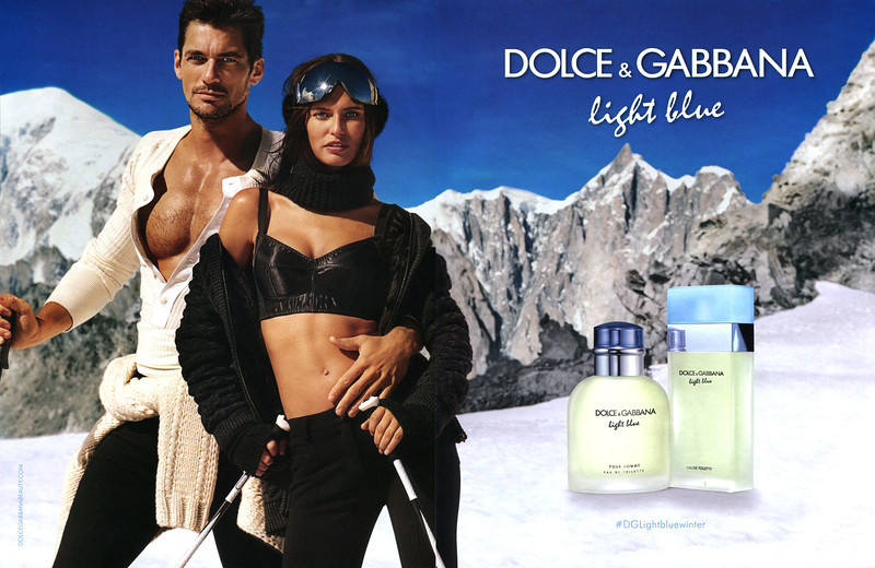 DOLCE & GABBANA Light Blue - Light Blue pour Homme 2017 Italy spread '#DGLightbluewinter'