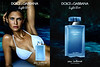 DOLCE & GABBANA Light Blue Eau Intense 2017 Spain (recto-verso with scent sticker) 'The new fragrance'