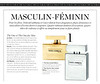 DOLCE & GABBANA The One - The One for Men Limited Edition 2014 Belgium (advertorial Elle) 'Masculin-féminin'