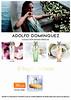ADOLFO DOMINGUEZ Colección Aguas Frescas <br /> (Agua Fresca de Rosas + Agua fresca de Azahar + Agua Fresca de Rosas Blancas) <br /> 2017 Spain (El Corte Inglés stores) format 15,5 x 20,5 cm <br /> 'Ahora tu fragancia favorita con su complemento de baño más exclusivo de regalo'
