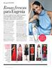 DOMÍNGUEZ Agua Fresca de Rosas 2015-2016 Spain (advertorial In Style) 'Rosas frescas para Eugenia'