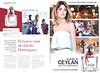 ADOLFO DOMÍNGUEZ Viaje a Ceylán femme 2014 Spain spread 'El nuevo viaje de Adolfo Domínguez - Un viaje. Una pasión. Un perfume. - La nueva fragancia femenina'