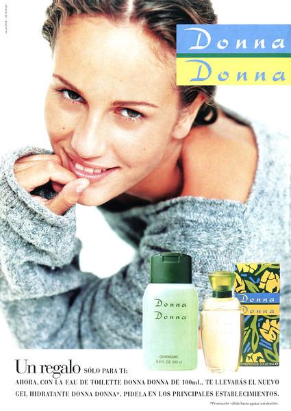 DONNA DONNA Eau de Toilette 1995 Spain (format Hola)