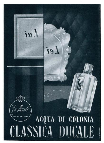 LA DUCALE Acqua di Colonia Classica 1940 Italy