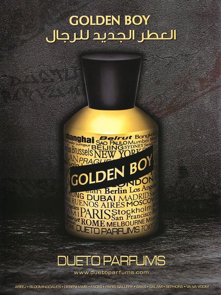 DUETO Golden Boy 2011 United Arab Emirates