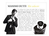MASSIMO DUTTI In Black 2012 Spain (advertorial News Fragancias) small format 'Más seductor'
