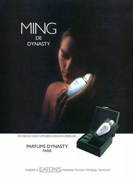 DYNASTY Ming 1985 Canada 'The French have captured China in a perfume'