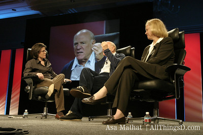Barry Diller  and Meg Whitman