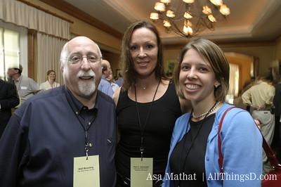Walt Mossberg, Pam Alexander and Katherine Boehret.