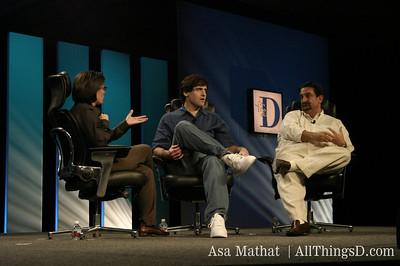 Kara Swisher interviews Mark Cuban and Ted Leonsis at the inaugural D conference.