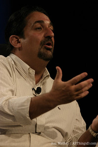 Ted Leonsis onstage at D1 in 2003.