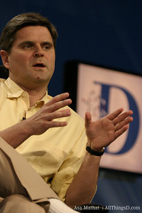 Steve Case of AOL onstage at D1 in 2003.