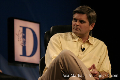 AOL's Steve Case at the D1 conference in 2003.