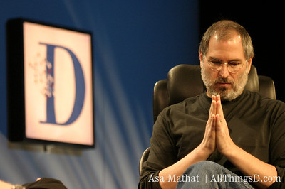 Steve Jobs at D1.