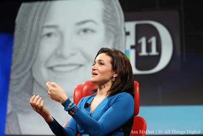Sheryl Sandberg's bracelets have no visible tech, but they are wearables.