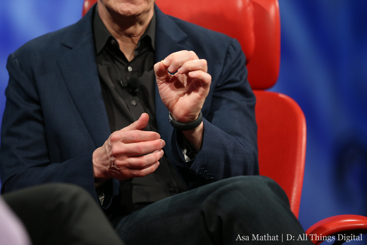 Tim Cook's Nike+ FuelBand