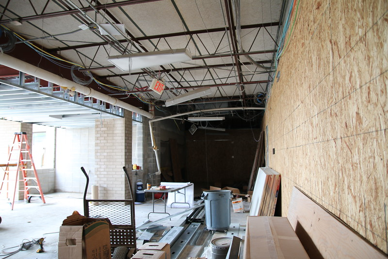 A look inside of Souths Main entrance Reconstruction