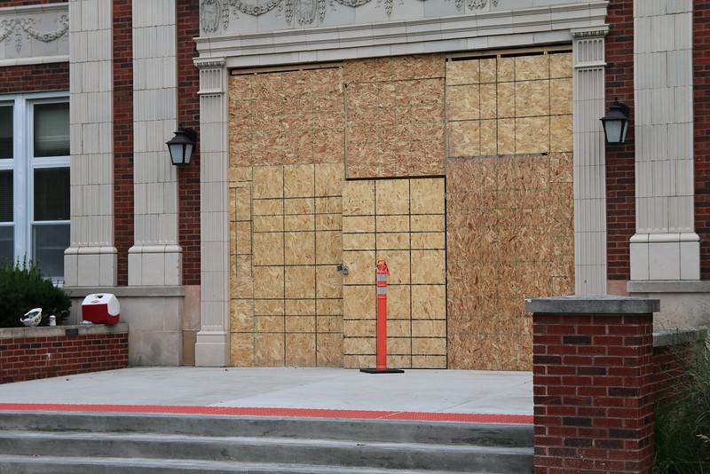 Crystal Lake Central Main Entrance remodeling