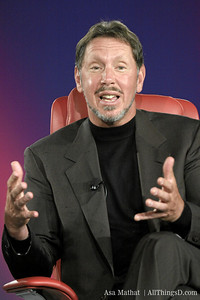 Larry Ellison live at D.