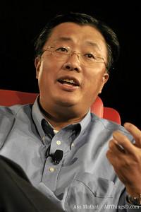 UTStarcom's President and CEO Hong Liang Lu.
