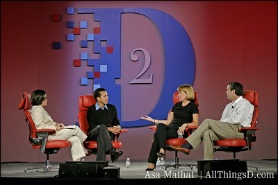 Yusuf Mehdi of MSN, Lisa Hook of AOL and Garry Betty of Earthlink.