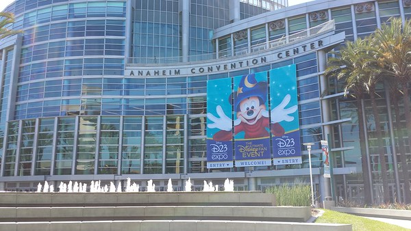 2013 D23 Expo at the Anaheim Convention Center