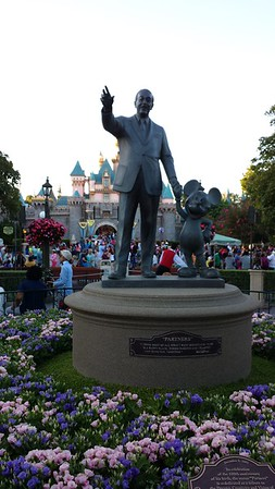 The Partners Statue - Disneyland
