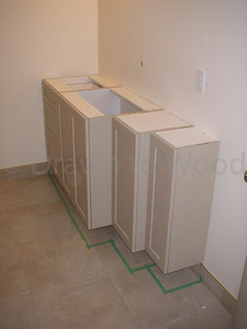 Stepped Cabinets