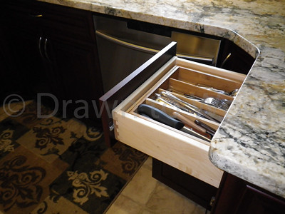 Maple Dovetailed Drawers